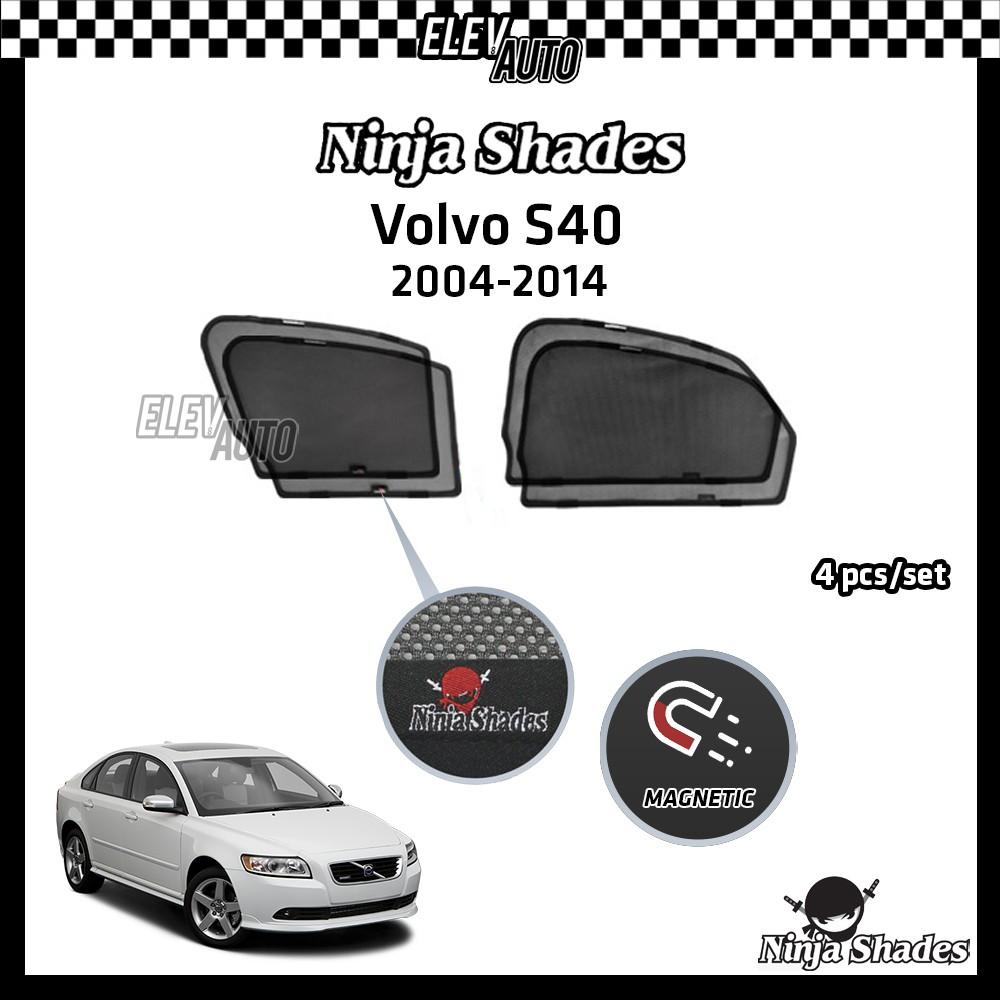 Volvo S40 (2004-2014) Ninja Shades OEM Magnetic Sunshade