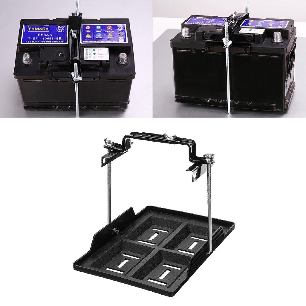 Adjustable Universal Car Storage Battery Clamp Bracket Tool Kit hot sale
