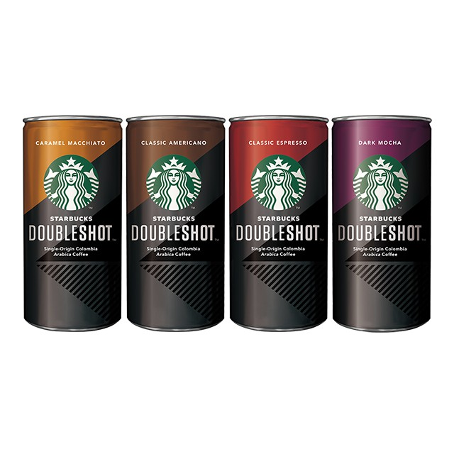 Starbucks Double Shot Classic Assorted (4 x 228ml)