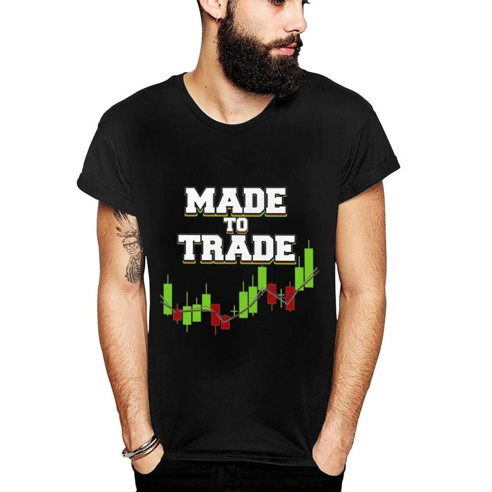 a8f586288 Big Size Day Trader Forex Candlestick Tees Made To Trade Popular Streetwear  T Shirt For Man Harajuku T-Shirt 3D Print