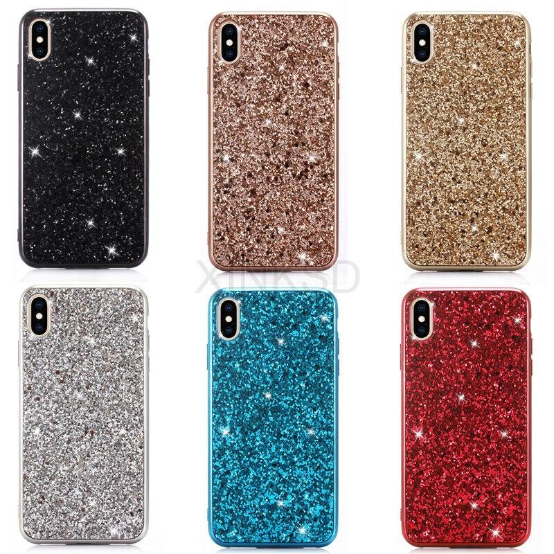 เคส Bling Bling Glitter Soft TPU สำหรับ Apple iPhone XS