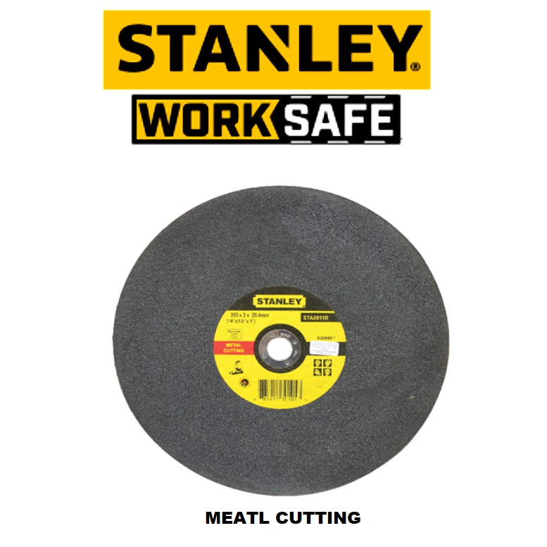 STANLEY STA8011R 14'' 3.0MM METAL CUTTING DISC