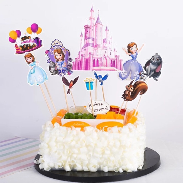 Cool Malaysia Ready Stock Sofia Princess Theme Birthday Cake Funny Birthday Cards Online Inifodamsfinfo