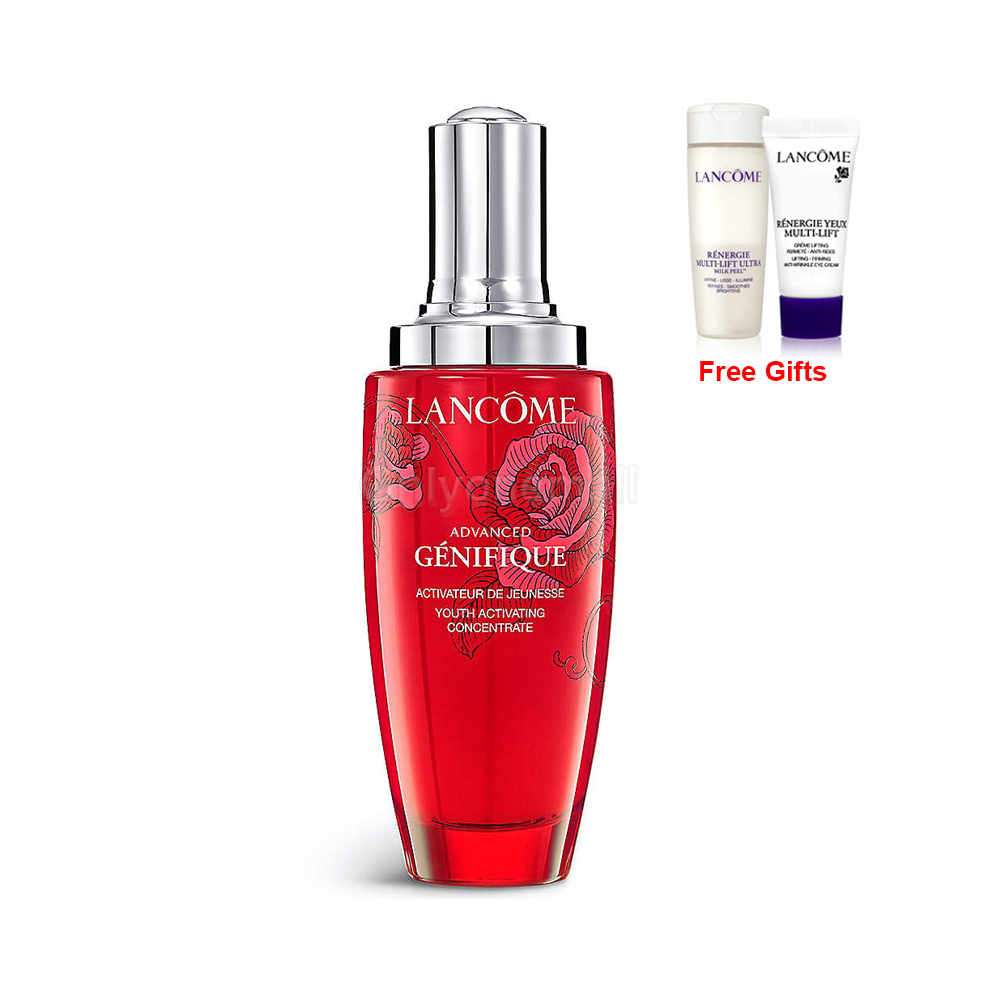 Lancome Advanced Genifique Microbiome Youth Activating Concentrate 100ml (Limited Edition With Free Gift)