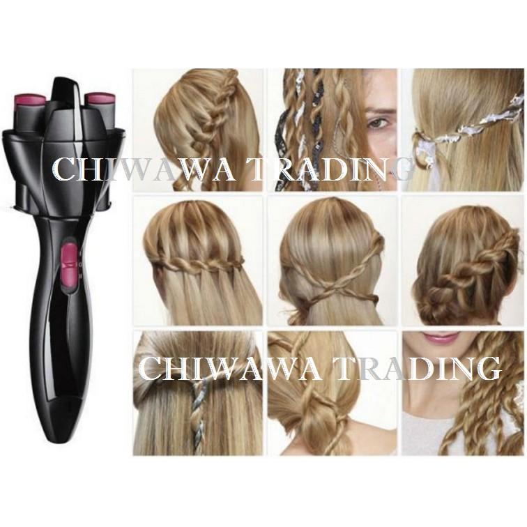 CHIWAWA Paris Twist Secret 360° Rotating Hair Curler Roller Styler Styling Tool