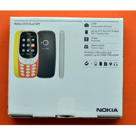 NOKIA MOBILE NOKIA 3310 DUAL SIM