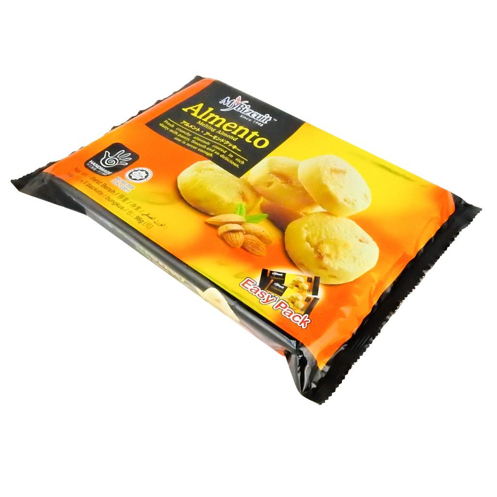 MyBizcuit Almento Melting Cookies - Almond (96g)