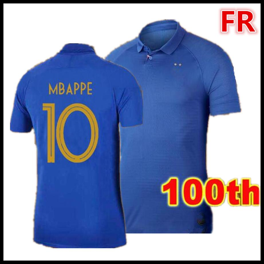 reputable site 8616f 0d558 100th France 1919 2019 Special Edition Centenary mbappe ...
