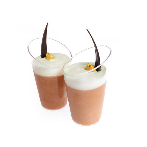 Pastry Pro, Dessert Cup, Round Angled, 60ml, 20pcs