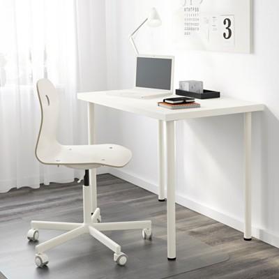 Multipurpose Study Work Pc Computer Table Desk 100 X 60 Cm Linnmon Adils