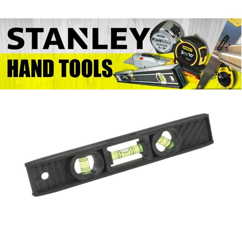 STANLEY HAND POWER TOOLS TORPEDO LEVEL 42-291 203METER 8INCH 3LEVEL-45* 1 PLUMB (3 MONTH WARRANTY)
