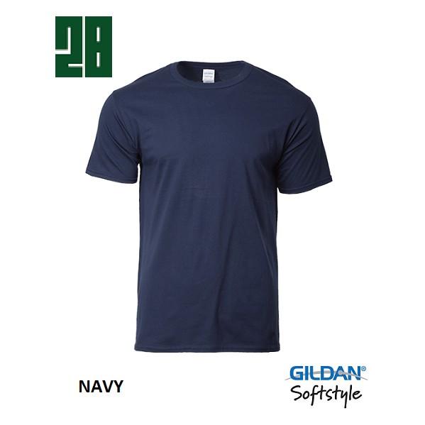 d06144372211f Gildan 63000 Softstyle Adult T-Shirt - Navy