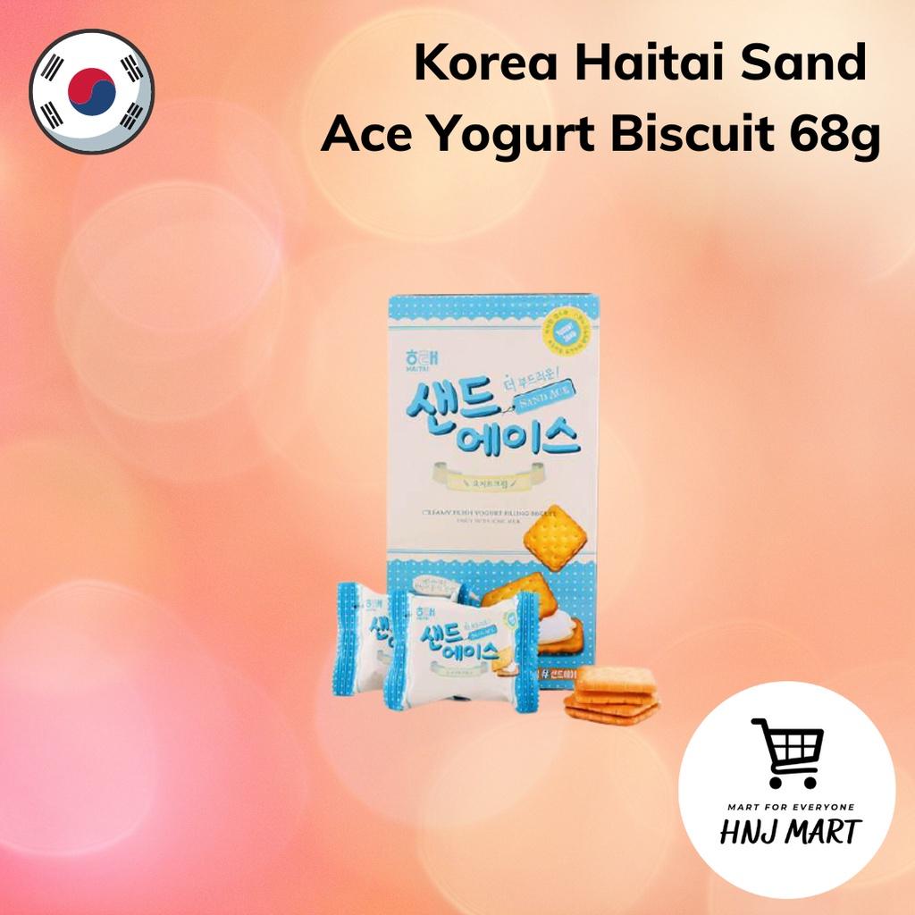 Korea Haitai Sand Ace Yogurt Biscuit 68g