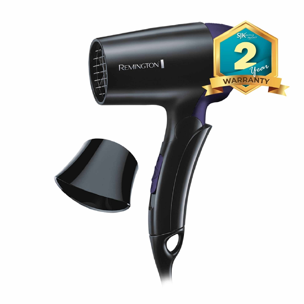 Remington Travel Hair Dryer D2400 (1400W) Dual Voltage Hair Blower ... 2c66374a58