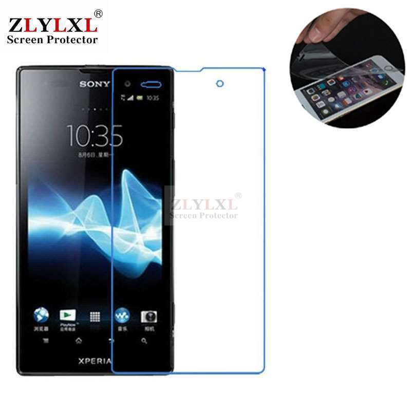 new style b94c8 296c3 3 pcs screen protector protective film Sony Xperia ion LT28H LT28I
