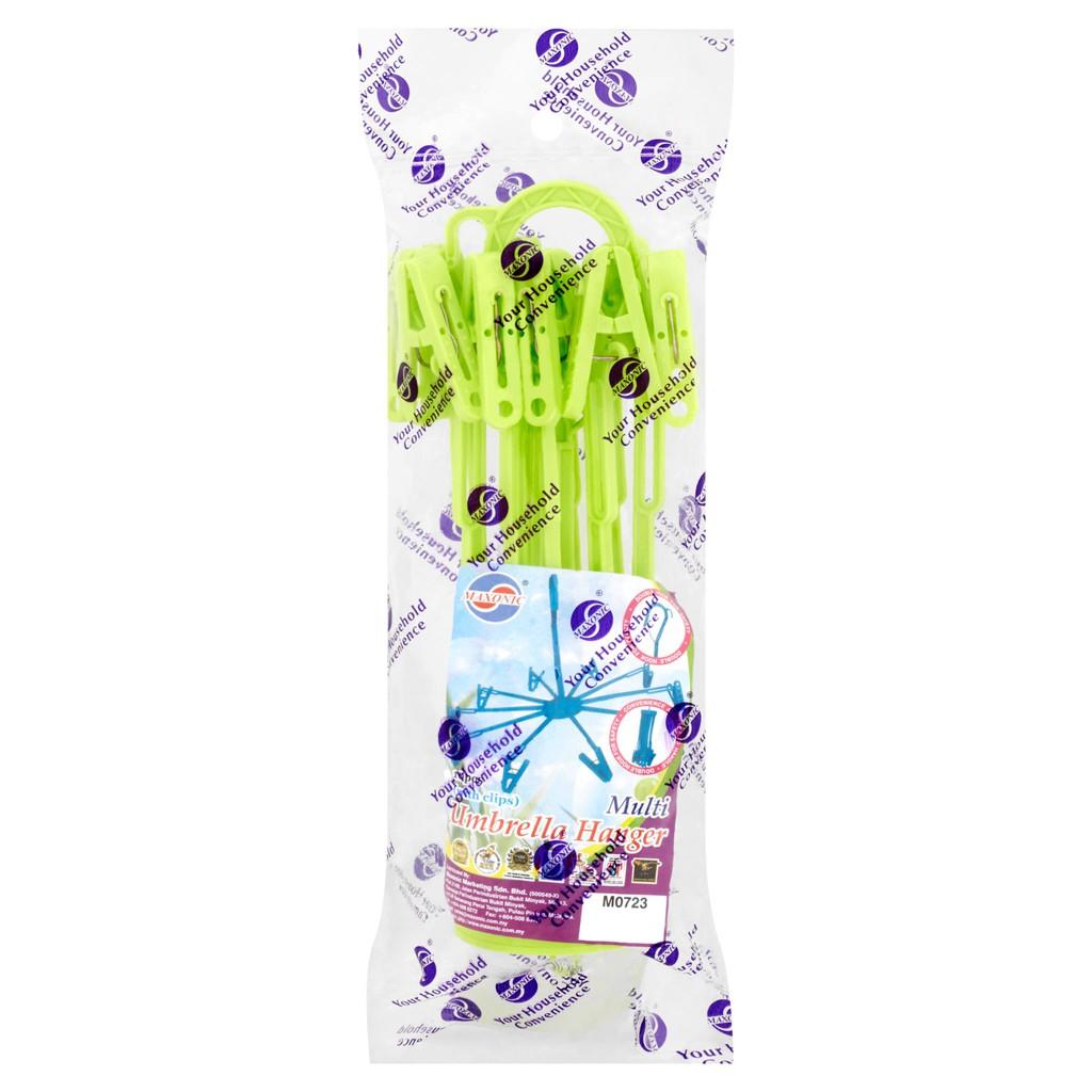 Maxonic Umbrella Cloth Plastic Baby Hanger (10 Pcs)