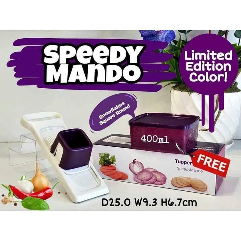 TupperwareBrand Speedy Mando (Purple) Penyagat Murah Purple Unggu Penyagat Kerepek Pisang Kerepek Murah Hadiah GiftBox
