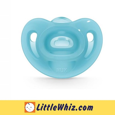 Nuk: Sensitive Soft Silicone Soother - 0-6 months (1pc) (Pacifier)