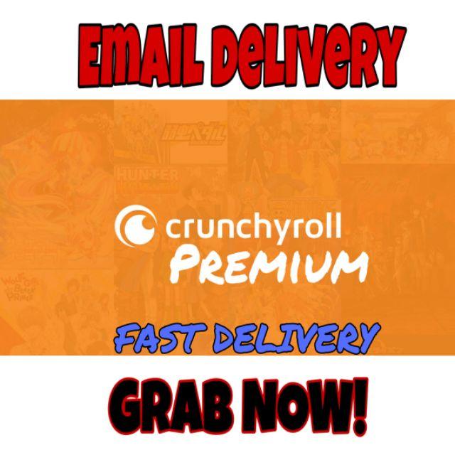 Crunchyroll, premium (CHEAPEST)
