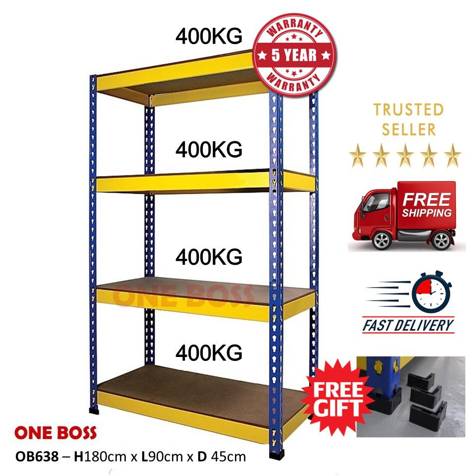 Room Store Warehouse: H6'xL3'xD1.5' BOLTLESS RACKING HOME STORAGE WAREHOUSE