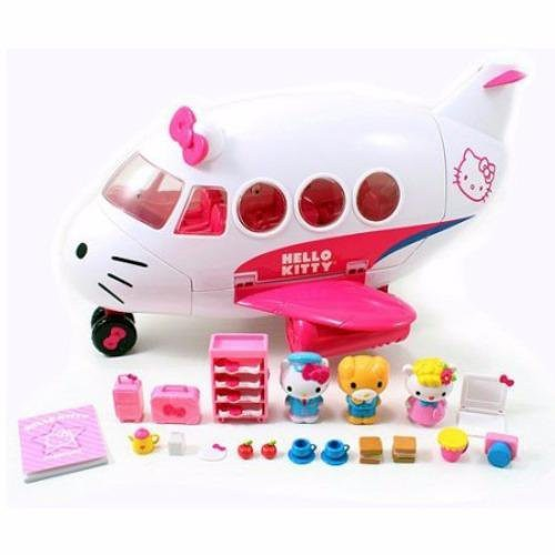 ad6af85bb ProductImage. ProductImage. Jada Toys Hello Kitty Jet Plane Play Set Genuine  License Product White