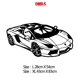 Modern Sport Car Vinyl Wall Sticker Cars Wall Decor For Living Room Decoration Bedroom Decor Home Wall Art Decals Shopee Malaysia