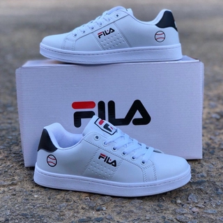 READY STOCK] FILA SPORT BLACK WHITE | Shopee Malaysia