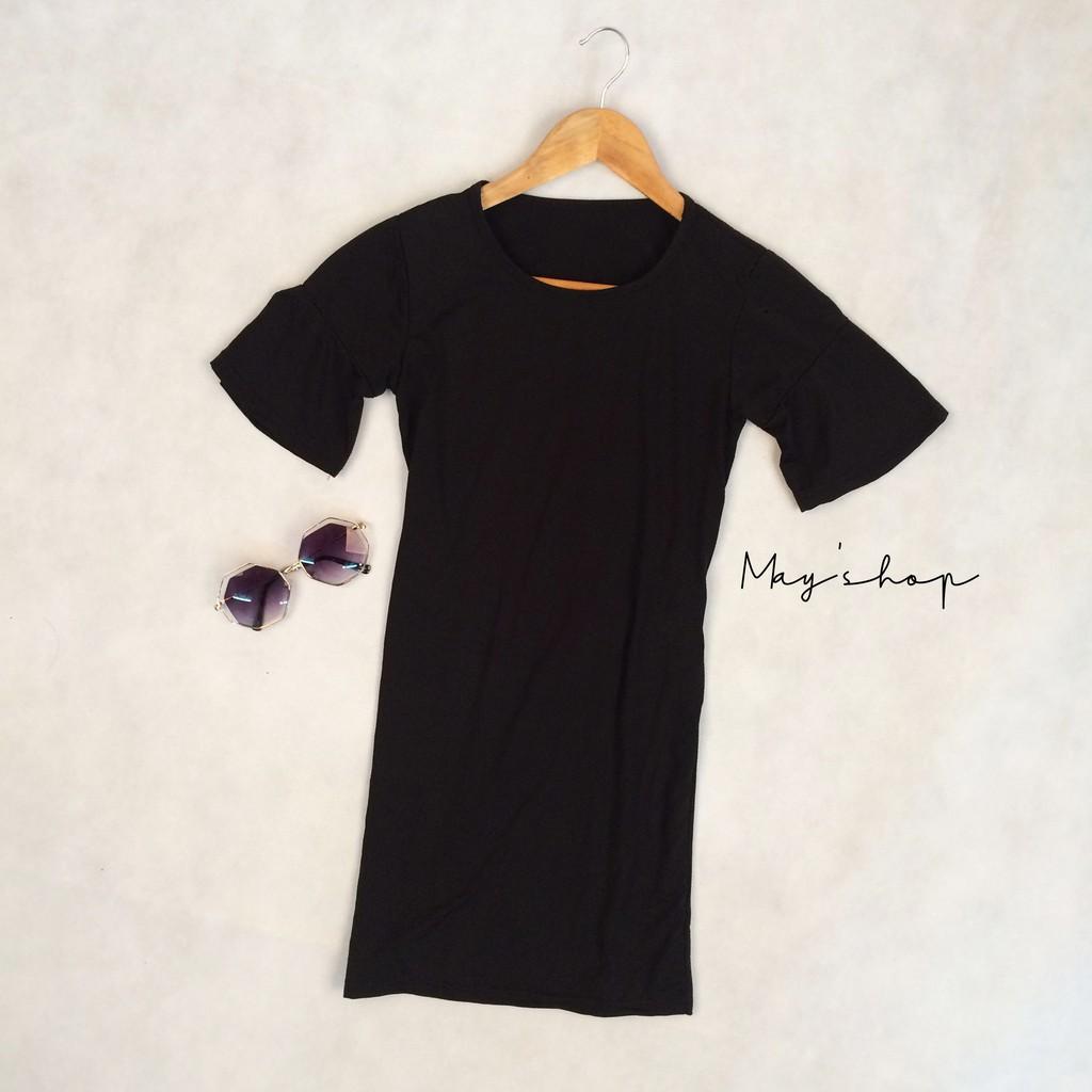 [ Clearance Stock ] SUMMER Women Midi Dresses Round Neck