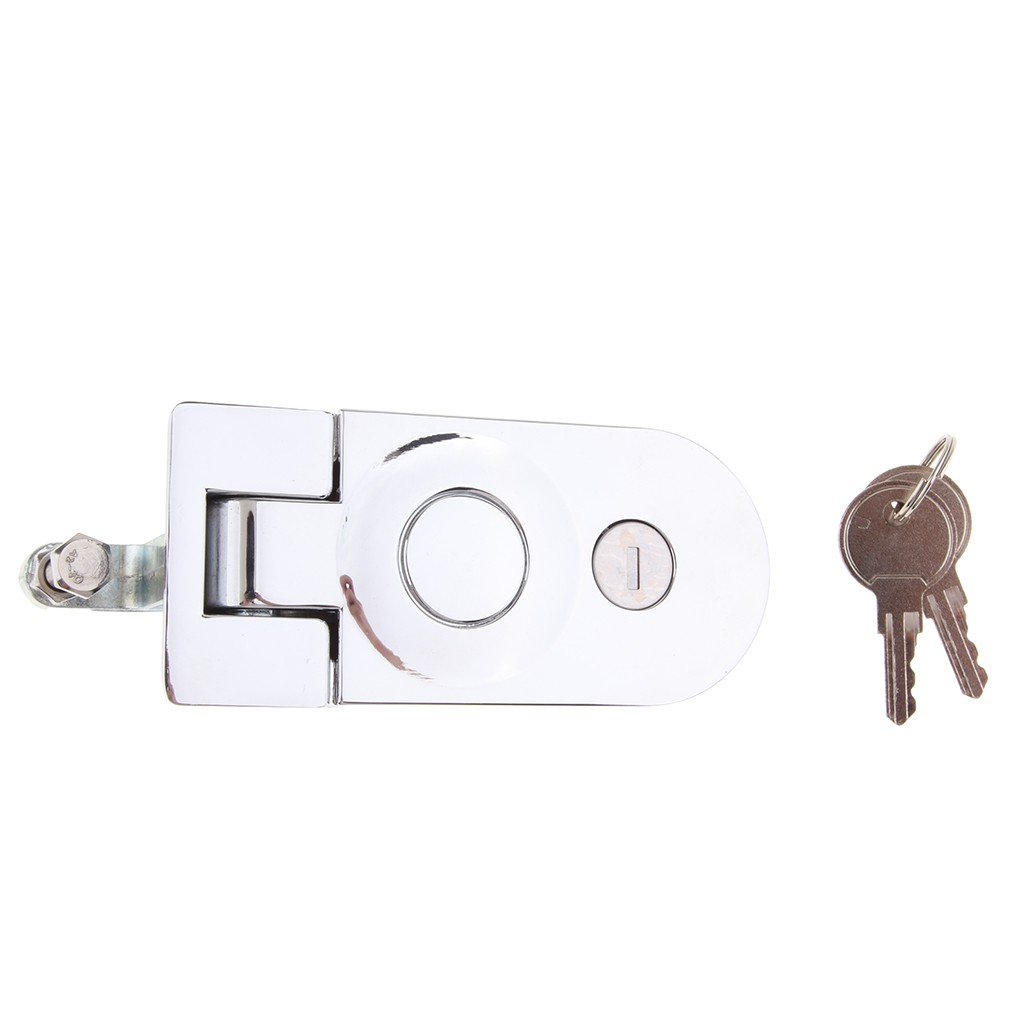 Flush Lever Compression Latch Key Lock for RV / Camper / Trailer / Motorhome