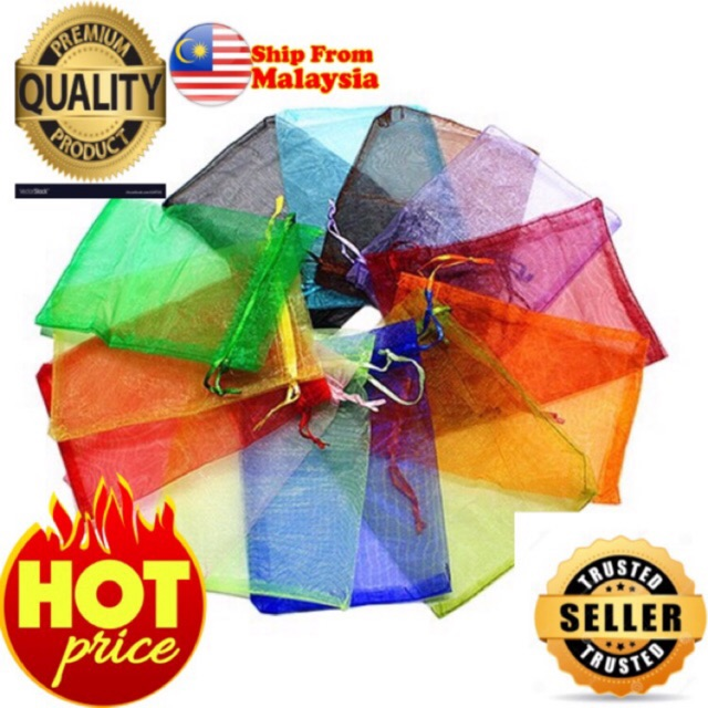 *MUST BUY*100pcs pouch mixed colors in pack mini doorgift