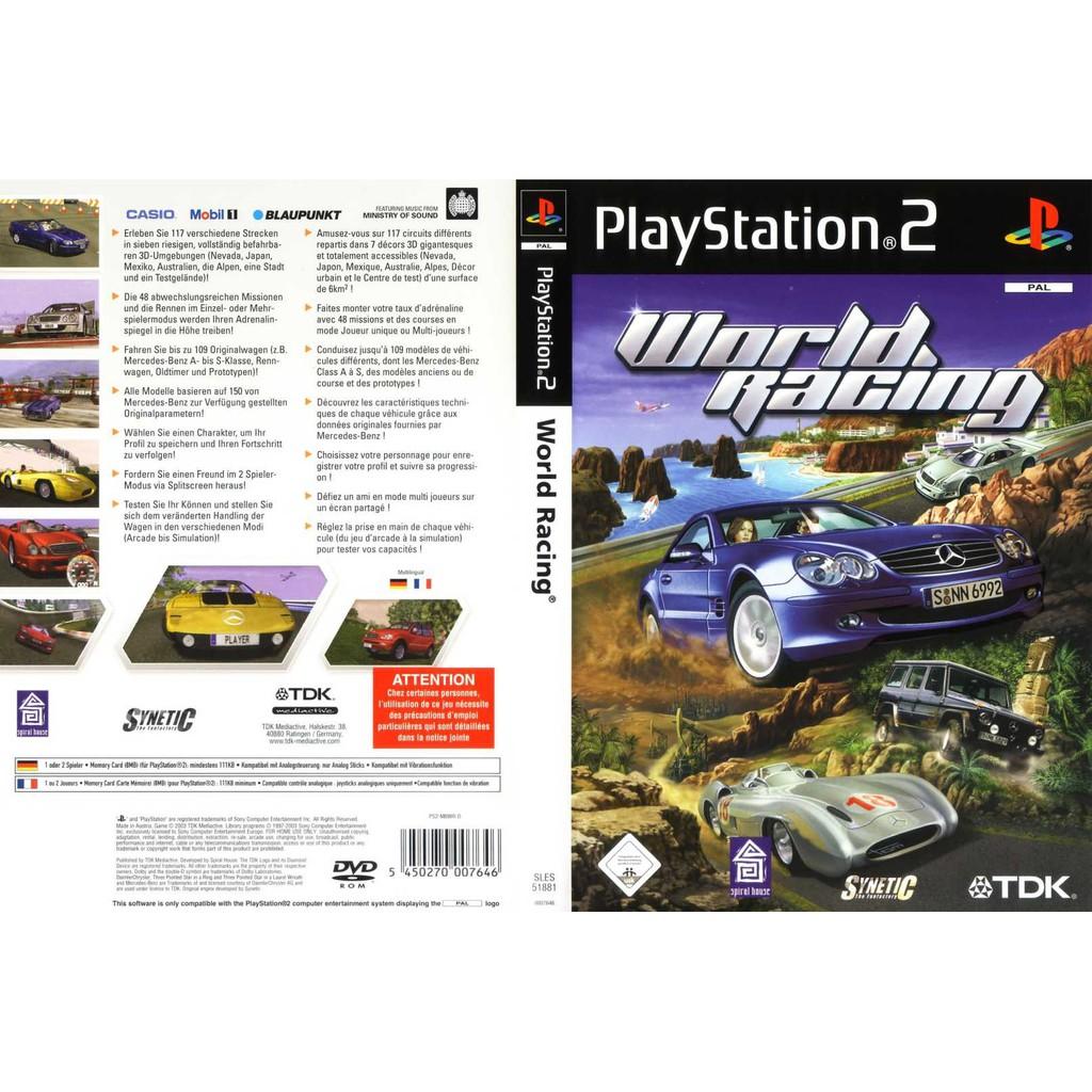 PS2 Games World Racing