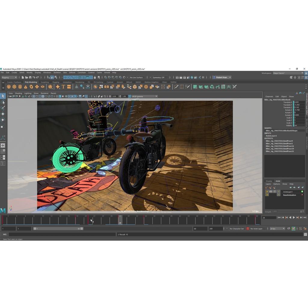 Autodesk Maya 2019 Windows 64 Bit
