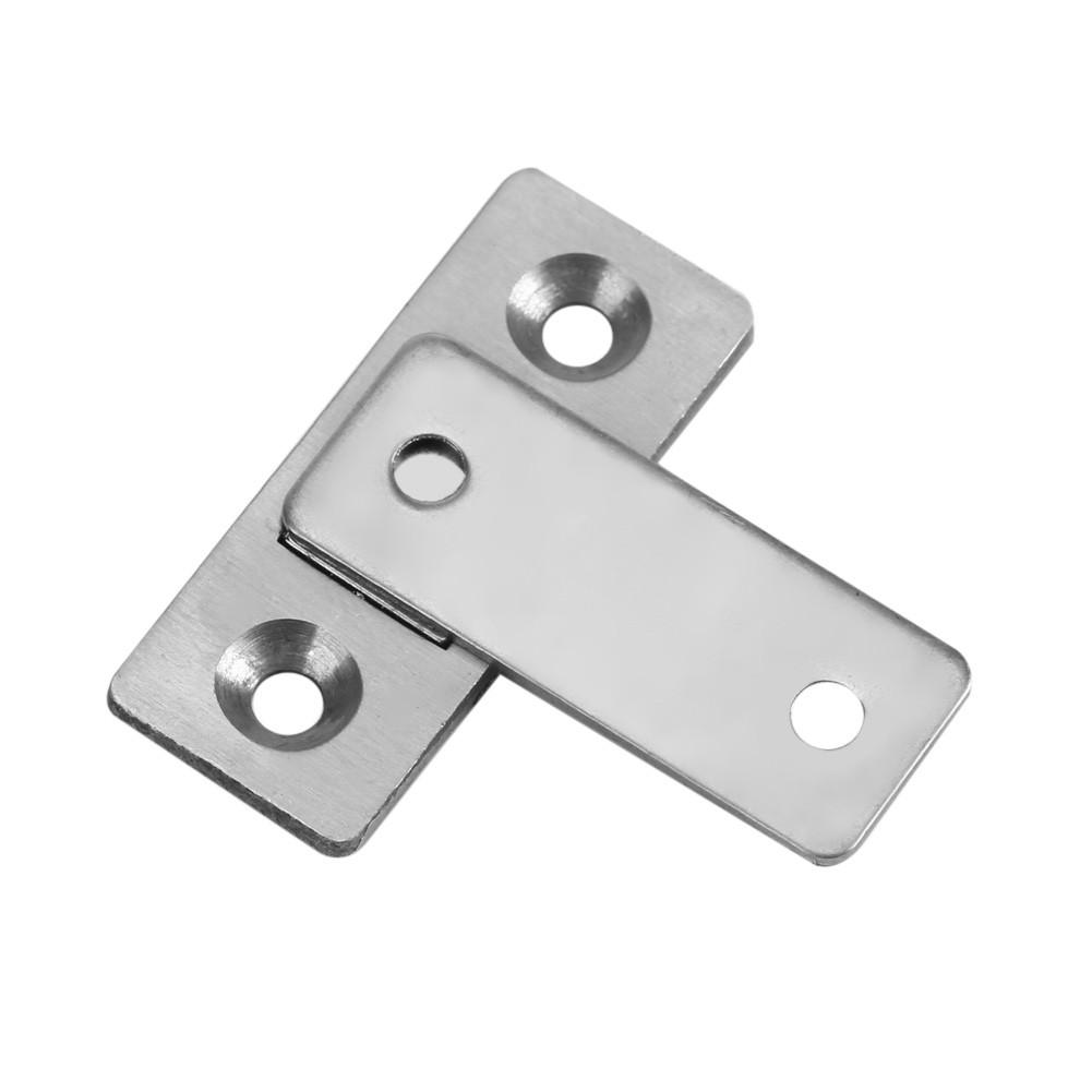 Jeffergarden Door Stop Stainless Steel Magnetic Door Stopper Holder Home Door Stop Door Holder Doorstop Door Hold Open Strong Suction