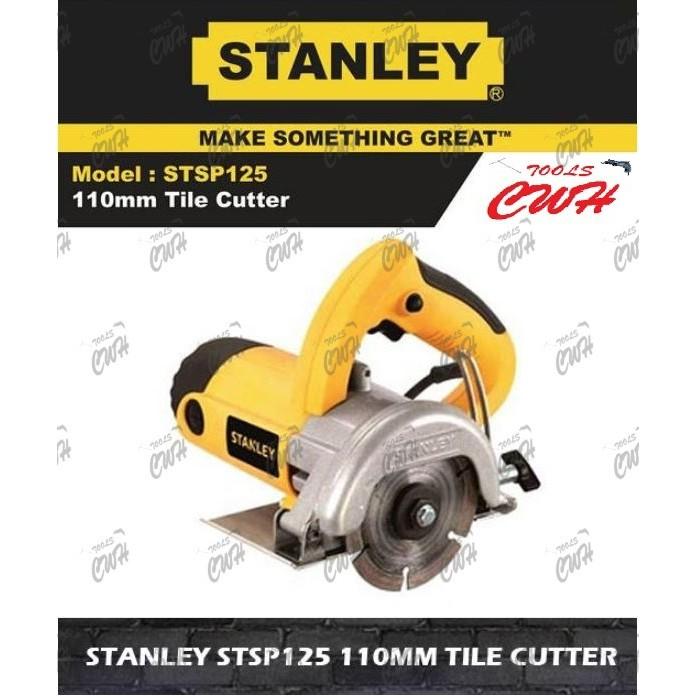 Stanley Stsp125 1320W Tile Marble Concrete DIAMOND Cutter WALL MASONRY BRICK SAW