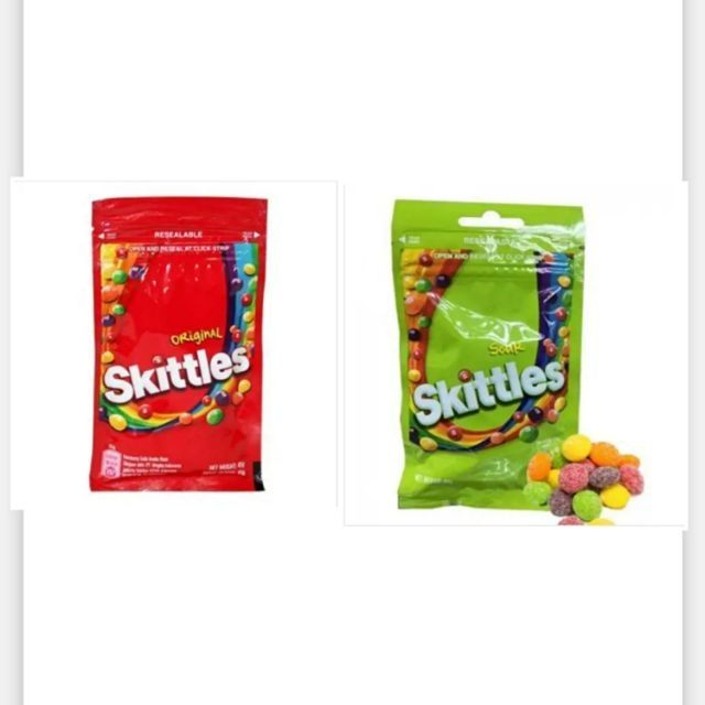 Skittles sweet candy