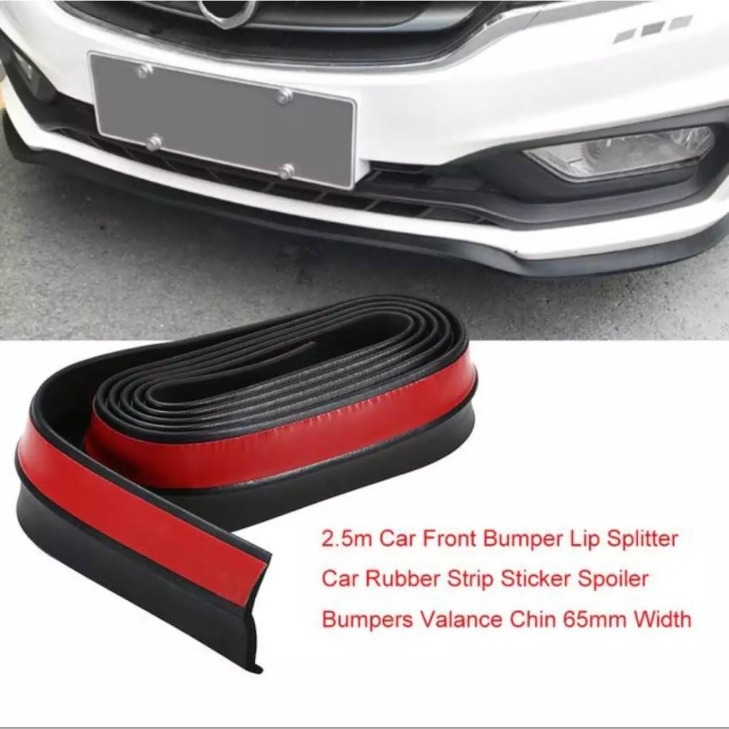 Samurai lips gred a rubber skirt protector car front bumper samurai sticker shopee malaysia
