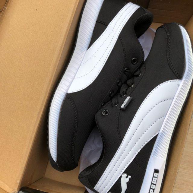 Puma Racer Sports Shoes Sneakers - Black/37-45 Euro