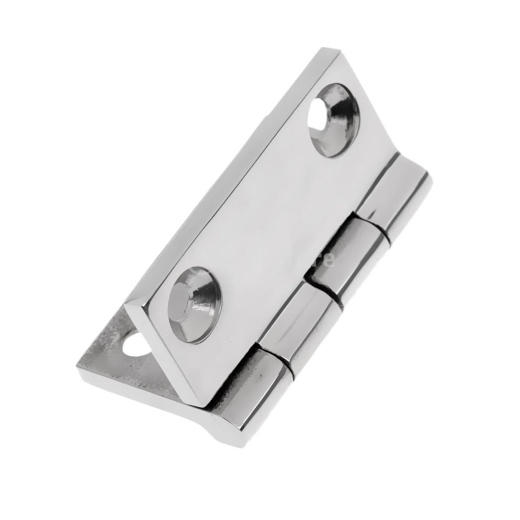 10x Heavy Duty  Marine Grade 316 Stainless Steel Heavy Duty Butt Hinge 50 mm