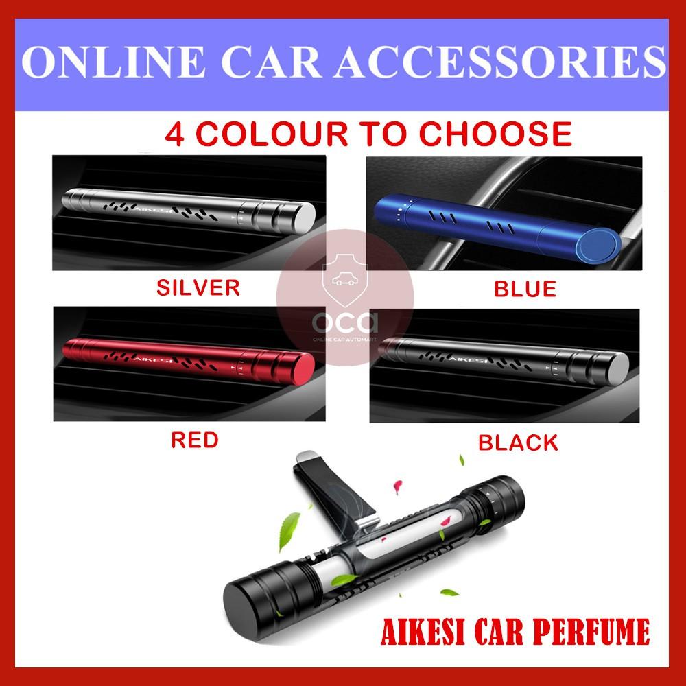 Aikesi Air Freshener Perfume Aroma Diffuser Car Air Conditioner Vent Auto Solid