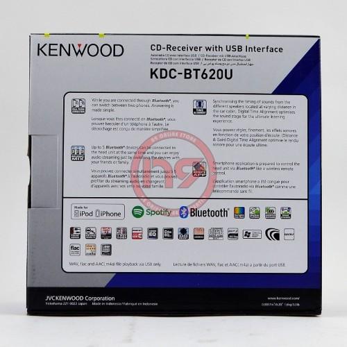 KENWOOD KDC-BT620U Built-In Bluetooth Spotify CD USB FM AM