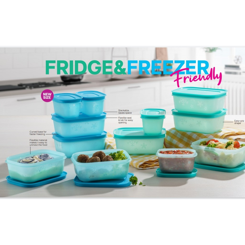 Chill Freeze Set 450ml (8pcs) Tupperware