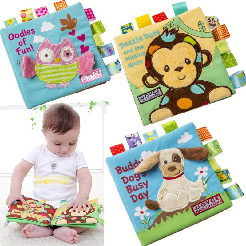 Fabric Kid Toys Educational Toy Baby Cloth Book Intelligence Development