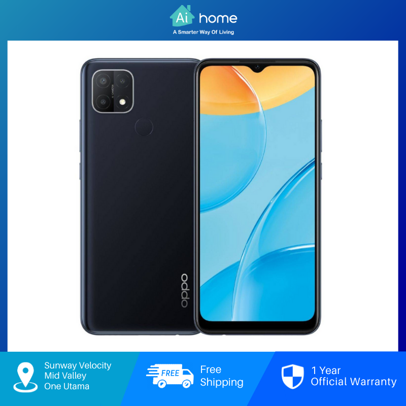 OPPO A15 [ 3GB + 32GB ] Smartphone - AI Triple Camera | 4230mAh Large Battery | Fingerprint Sensor [ Aihome ]