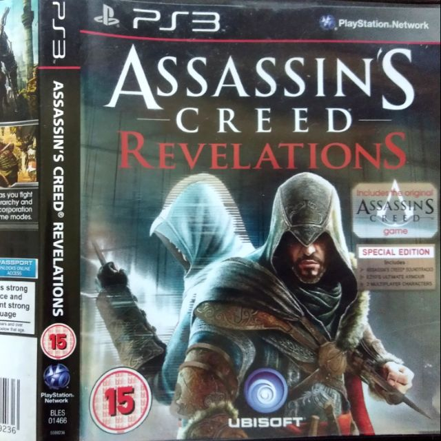 Ps3 Original Game Assassin S Creed Revelations C W Soundtrack