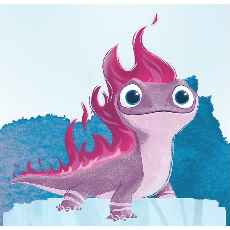 New Disney Frozen 2 Salamander Bruni Plush Collection Gift Shopee Malaysia