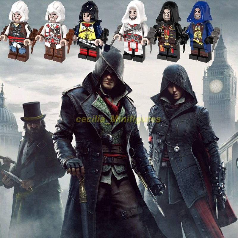 Legoing Minifigures Game Garage Kits Assassin S Creed Kenway