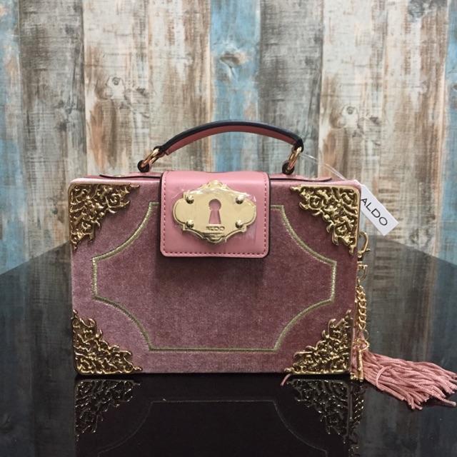 01d94331cdd ALDO Zosimo Blush Crossbody Handbag | Shopee Malaysia
