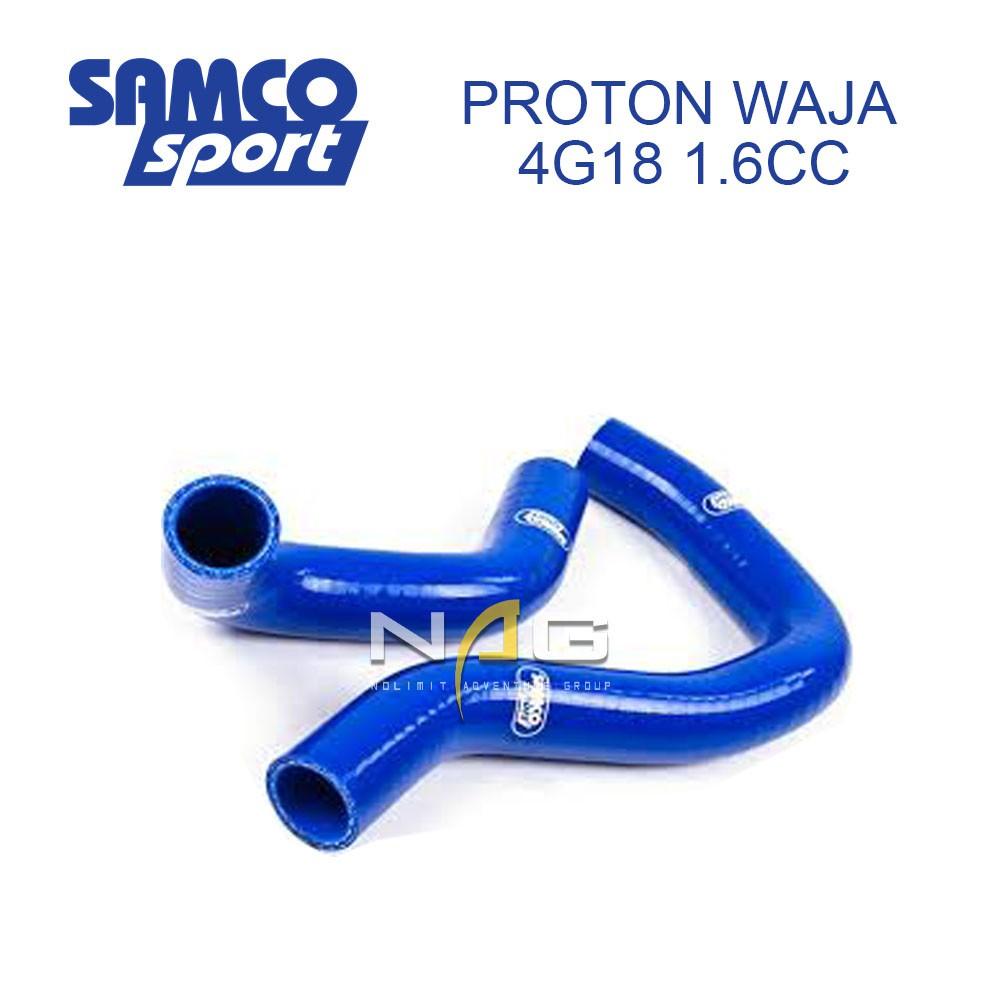 PROTON WAJA 4G18 1 6CC SAMCO SILICONE RODIATOR HOSE BLUE