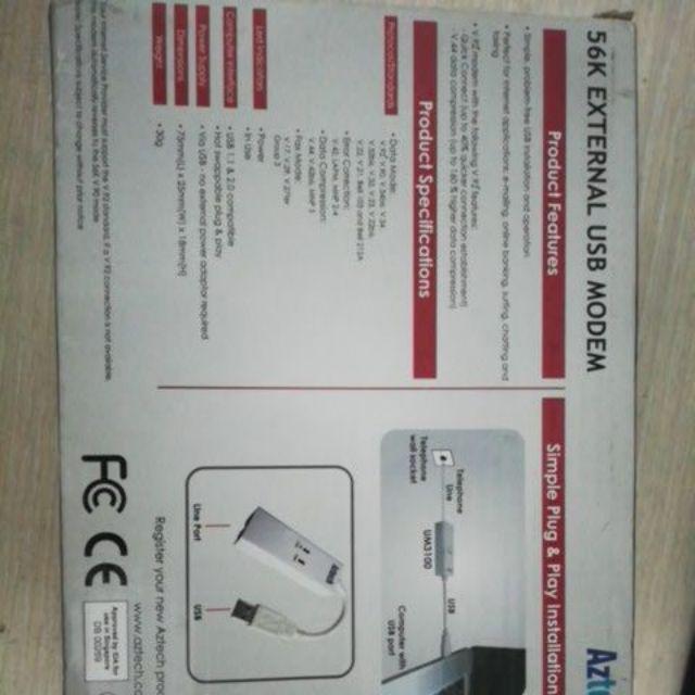 DRIVER: AZTECH USB MODEM UM3100