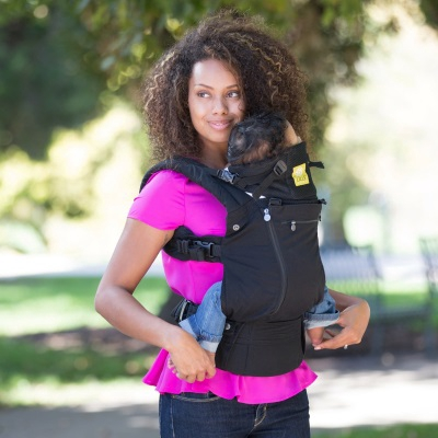 Lillebaby: Complete All Seasons Baby Carrier - Black